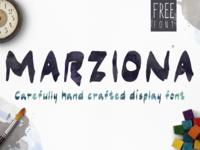 Marziona Free Font