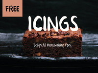 Icings Free Font