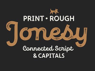New Jonesy Latin typedesign fontdesign typeface type font lettering typography
