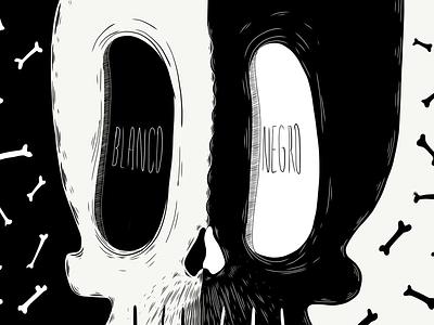 Black & White Series illustrator dribbbleweeklywarmup color palette sketching design trends drawing ulisescostilla design character design illustration