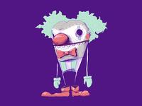 Payaso de subte B (underground clown)