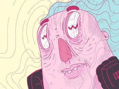 Hypnotized ux color palette ui sketching illustration drawing design trends design character design animation