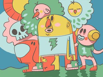 Astonished ux ui illustration  sketching drawing design trends animation