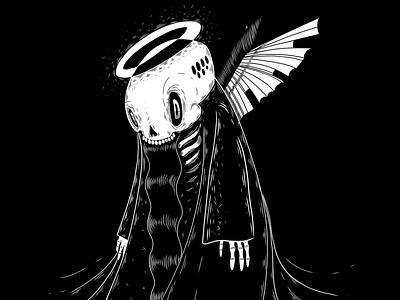 Darkangel death halloween dribbbleweeklywarmup