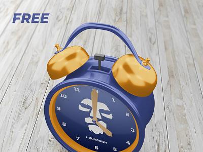 FREE ALARM CLOCK MOCKUP watches watch mechanical interior decoration interior home decoration dial decoration clock face clock alarm
