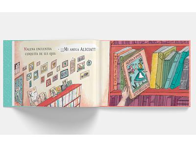 Mil grullas book childrensbookillustrator childrens illustration childrensbook aliceinwonderland cranes digital book love ilustracion illustration