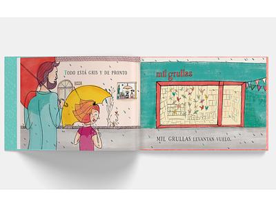 Mil grullas bookstore children book illustration childrens book childrens illustration aliceinwonderland cranes book love ilustracion illustration
