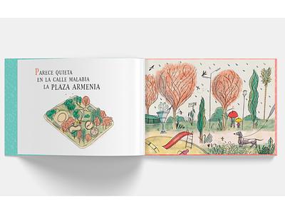 Mil grullas book buenosaires nature park rain dog children book illustration childrens book childrens illustration aliceinwonderland cranes book love ilustracion illustration
