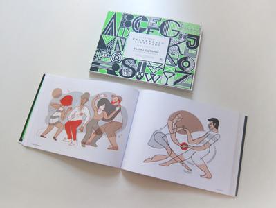 Anuario de ilustradores 2018 design men woman dance book digital love ilustracion illustration