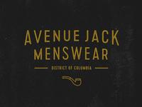 Avenue Jack Logo Concept WIP