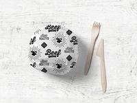 Beef N' Bread Sandwich Paper