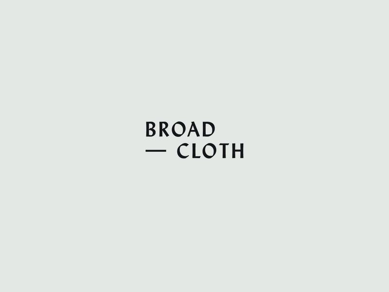 Broadcloth Type treatment WIP wip type blogging branding
