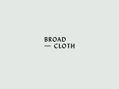Broadcloth Type treatment WIP wip type blogging branding