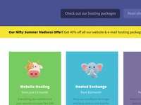 NiftyHost Homepage #2