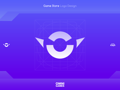Omni Games, Game Store Logo materialdesign artwork design logodesign icon design logo designer logo iconography android icon