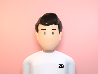 3D Avatar character character model blender 3d blender avatar 3d avatar 3d character 3d model 3dmodel 3d