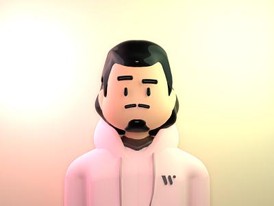 3D Avatar blender 3d