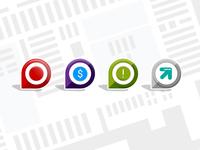 Map Pins // Target In-store App