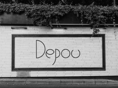 Depou circles restaurant branding restaurant logo photoshop design branding logo typography illustrator