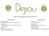 Depou Menu