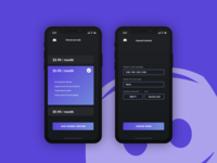 Daily UI - 02 - Credit Card Checkout