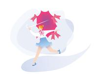 Illustration of Ice Skating Figure