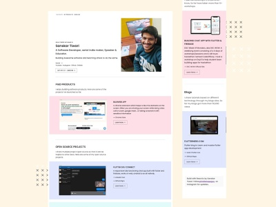 Portfolio Site Ui Design webdevelopment reactjs portfolio design portfolio site portfolio