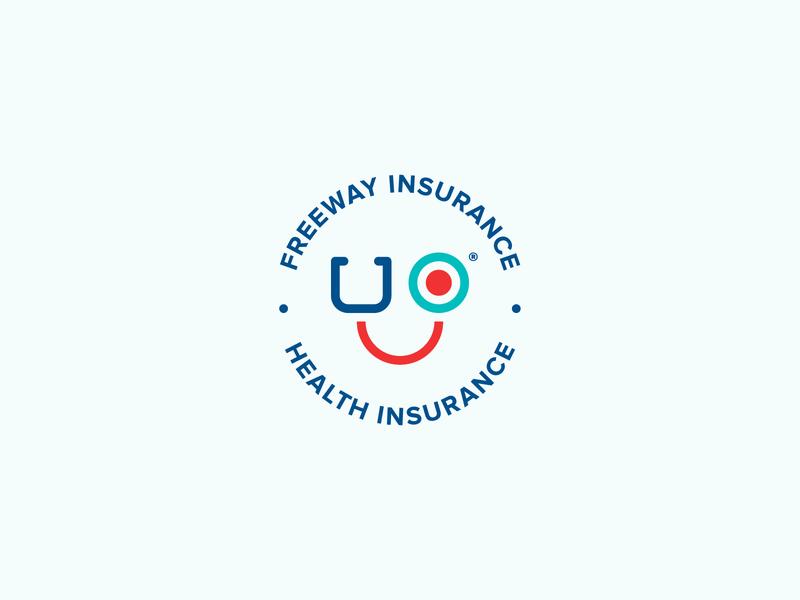 Health Insurance illustrator flat vector illustration symbol minimal health logo design branding