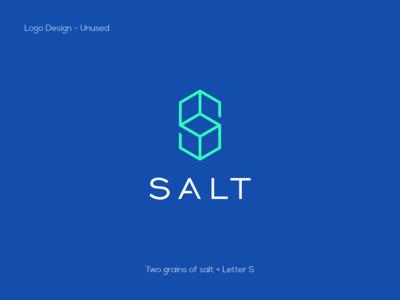 Letter S Salt Logo