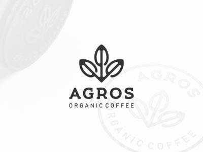 Agros - Organic Coffee Logo