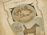 Dog n Pony Show Poster