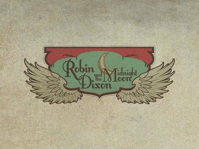 Robin Dixon & the Midnight Moon Band Logo
