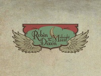 Robin Dixon & the Midnight Moon Band Logo