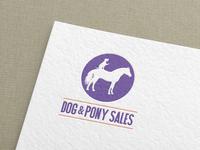 Dog & Pony Sales Logo