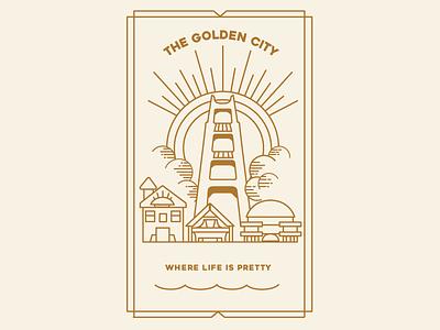 Golden City love goldengate sf