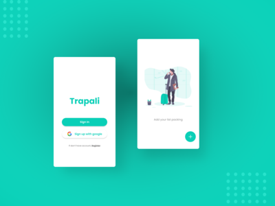 Trapali (Travel Packing List) App