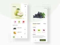 Fruits App Design