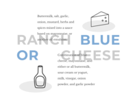 Ranch or Blue Cheese?