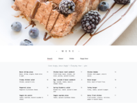 Brunch Website