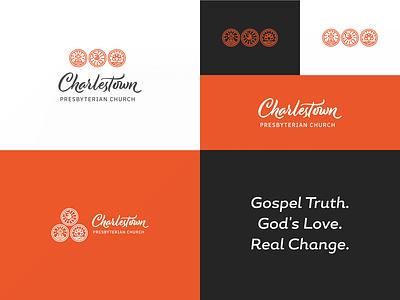 Charlestown Presbyterian Church Logo icons symbolism church logo branding