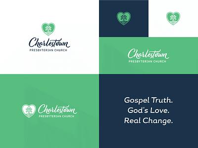 Charlestown Presbyterian Church Logo 2 symbolism church logo branding