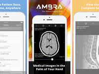 Ambra iOS App Store Screenshots