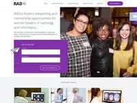 RADxx Homepage Redesign
