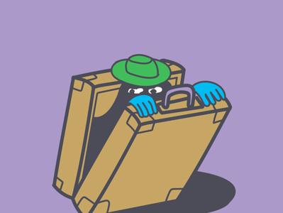 Resolving the Case. flat illustration vector illustration