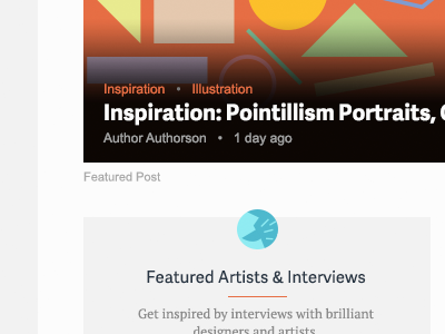 Topic Homepage website design tuts