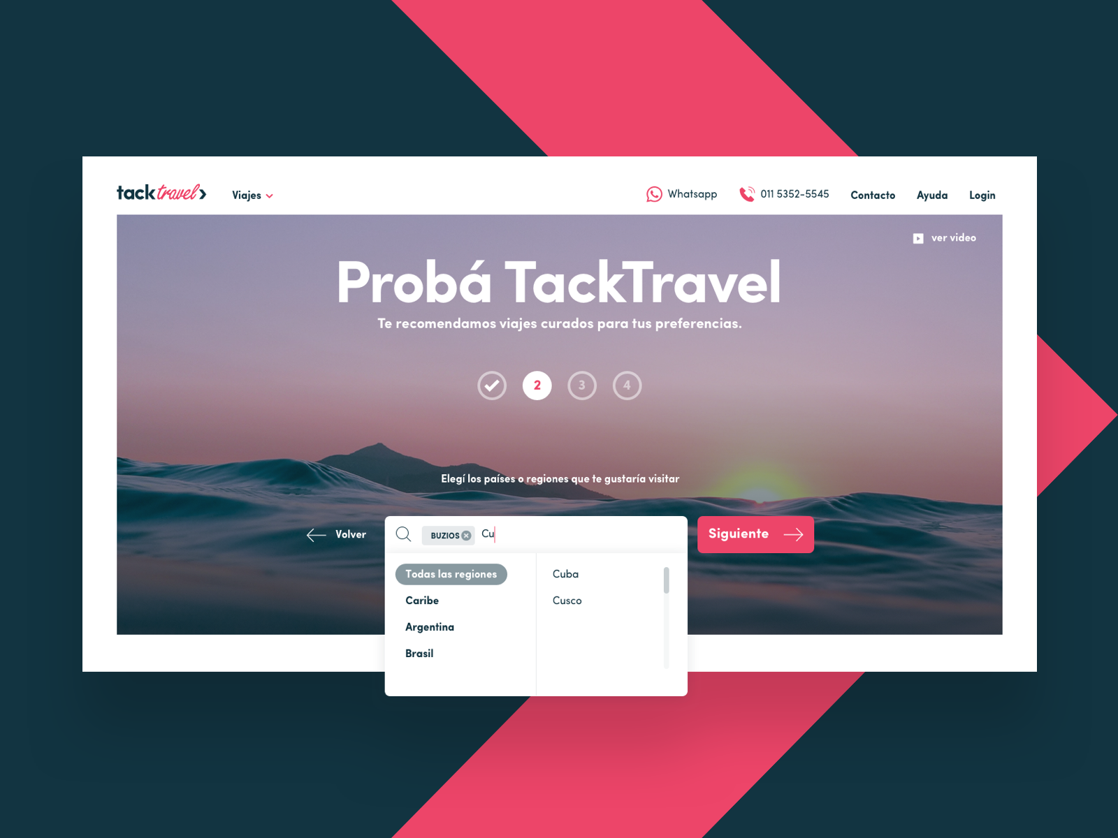 Dribbble   home search v2