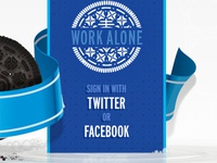 work alone, right side option