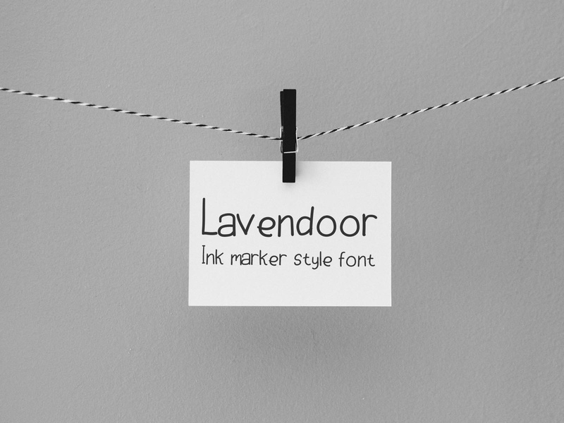 Lavendoor Script poster paint lettering letter latin ink handwritten handwriting hand font english drawn creative collection character calligraphy calligraphic black alphabet abc