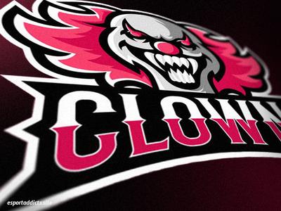 Clown E-Sport Logo