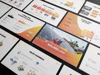 Powerpoint Pitch Deck design for BoxPower